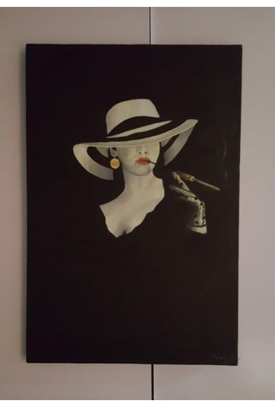 Savina Shops El Yapımı Yağlıboya Tablo 60 x 40 cm