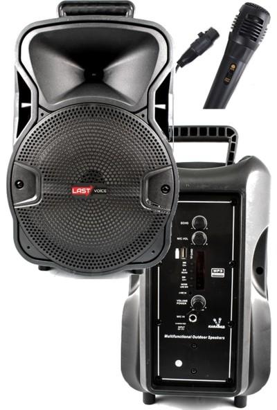 Lastvoice LS-08PA Mini Taşınabilir Şarjlı Ses Sistemi Hoparlör 100W Bluetooth USB