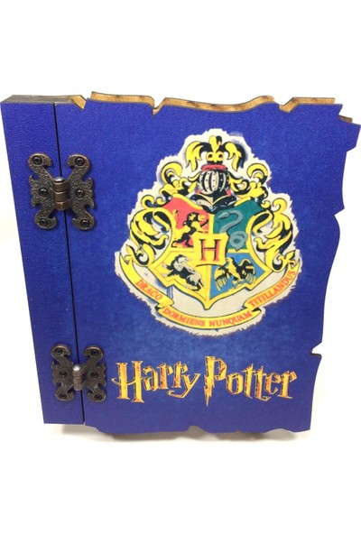 SYD Harry Potter Ahşap Hatıra-Anı Defteri