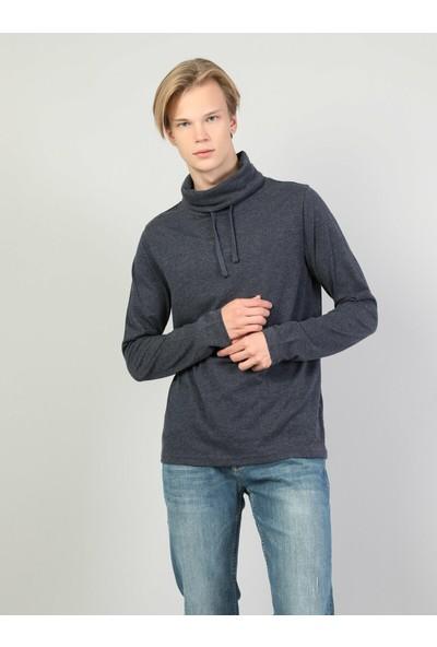 Colin's Mavi Erkek Sweatshirt