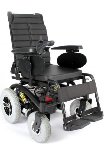 Mor Medikal Wollex WG-P130 Akülü Tekerlekli Sandalye