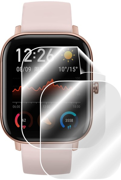 Ipg Xiaomi Huami Amazfit GTS Watch Ekran Koruyucu (2 Adet)