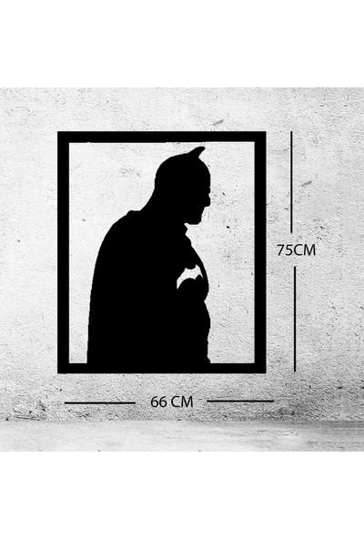 Batman Ahşap Duvar Tablosu
