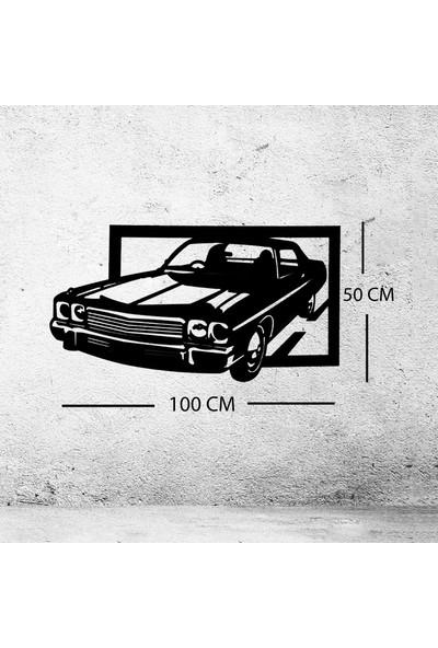 Mustang Ahşap Duvar Tablo