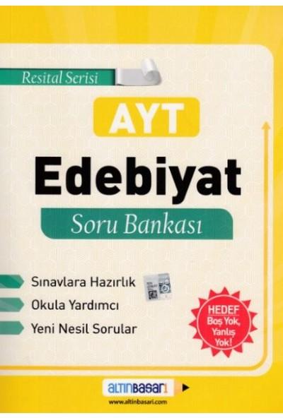 Altın Başarı Yayınları AYT Resital Serisi Edebiyat Soru Bankası