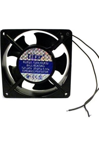 Tidar Rulmanlı 220 Vac 220 Volt 120 mm Fan