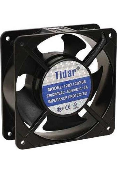 Tidar 220 Vac 220 Volt 120 mm Fan