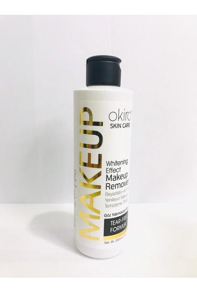 Okiro Makeup Remover Beyazlatıcı ve Hücre Yenileyici Makyaj Temizleme Toniği Göz Yakmayan Formül 200ML