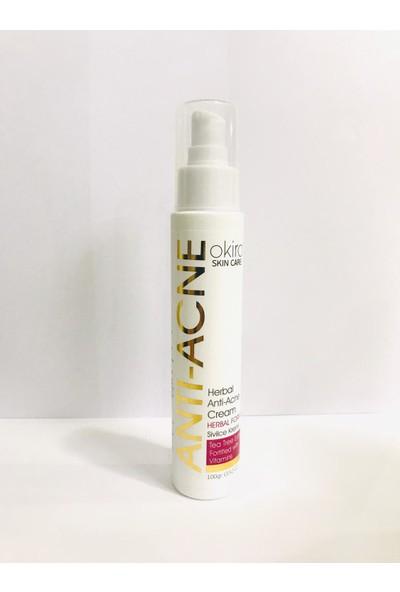 Okiro Sivilce ve Siyah Nokta Leke Kremi Herbal Anti-Acne Cream 100GR Herbal Anti-Acne Cream Formula
