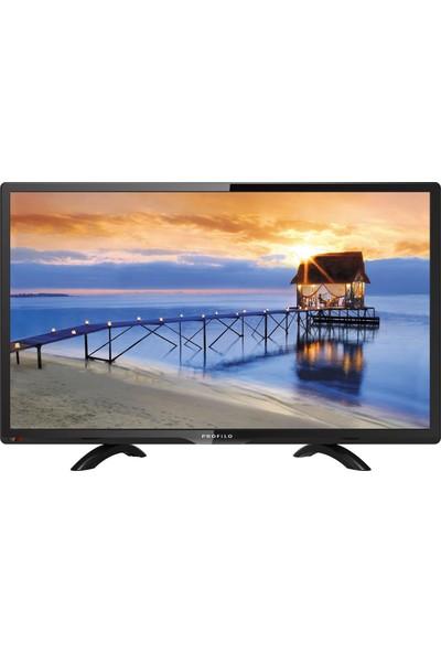 "Profilo 24PA200E 24"" 61 Ekran Uydu Alıcılı LED TV"