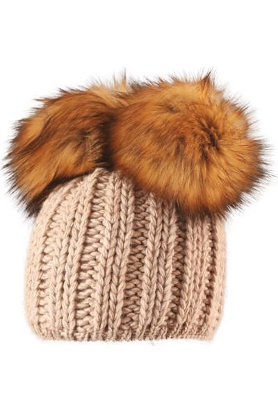 Starling Teddy SRL.C022 Kemik Kadın Şapkalar