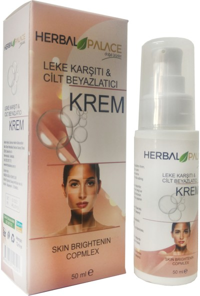 Herbal Palace Leke Karşıtı&cilt Beyazlatıcı Krem 50 ml