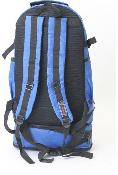 Cakard Körüklü Dağcı Sırt Çantası 0504-4 Mavi