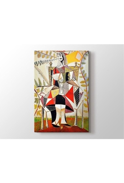 2645 İstanbul Pablo Picasso - Femme au Jardin Tablo
