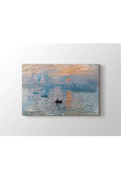 2645 İstanbul Claude Monet - Impression Sunrise 1872 Tablo