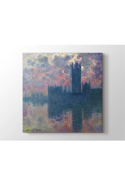 2645 İstanbul Claude Monet - Le Parlement Tablo