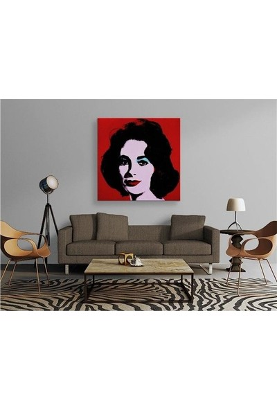 2645 İstanbul Andy Warhol - Red Liz Tablo