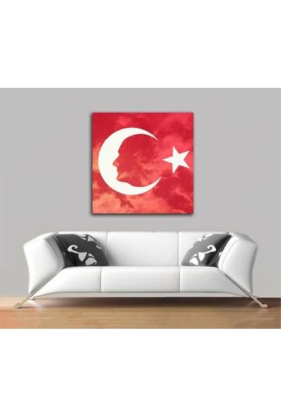 2645 İstanbul Türk Bayrağı Ve Atatürk Tablo