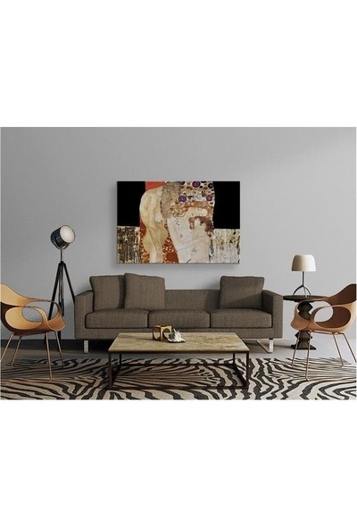 2645 İstanbul Gustav Klimt The Three Ages of Woman EkoTablo