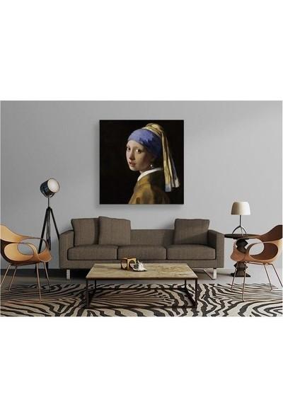 2645 İstanbul Johannes Vermeer İnci Küpeli Kız EkoTablo