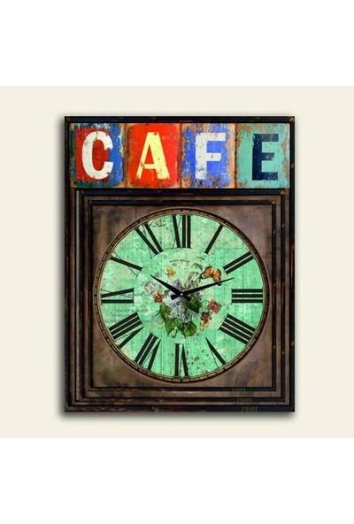 2645 İstanbul Cafe Avangart Klasik Duvar Saati