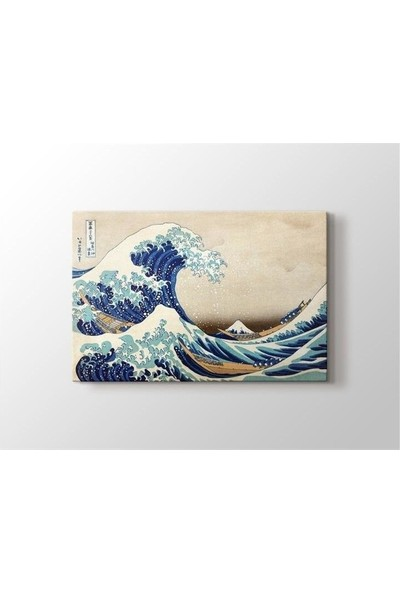 2645 İstanbul Ando Hiroshige The Great Wave Poster