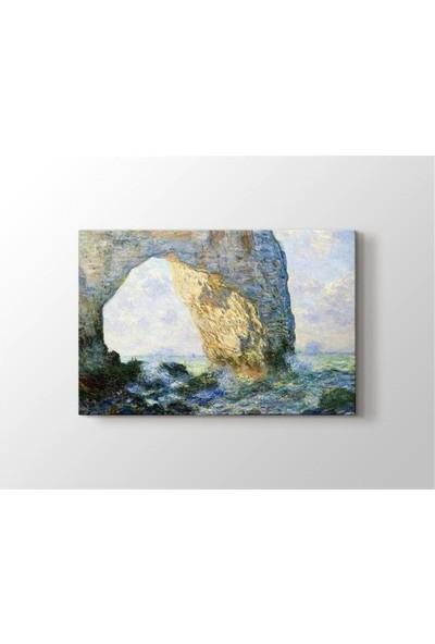 2645 İstanbul Claude Monet The Manneport Rock Arch West of Etretat Poster