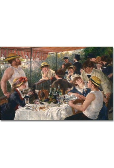 2645 İstanbul Pierre Auguste Renoir Luncheon of the Boating Party Poster