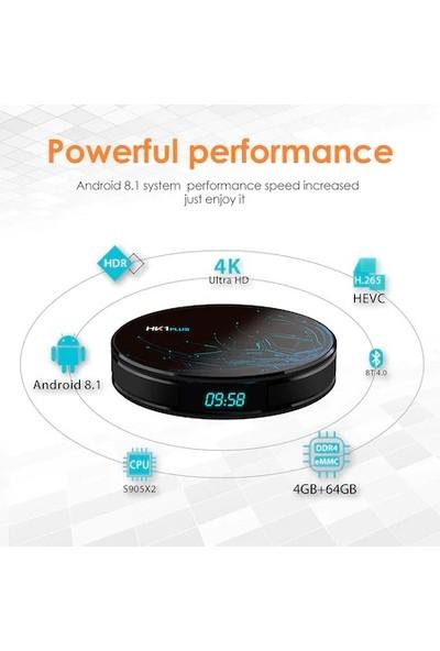PaLeOn HK1 PLUS Android 8.1 TV BOX 4GB RAM 32GB Hafıza