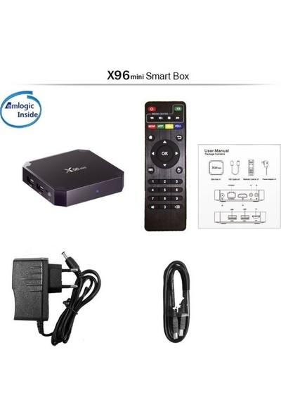 PaLeOn X96 Mini Android 7.1 TV BOX 1GB Ram 8GB Hafıza