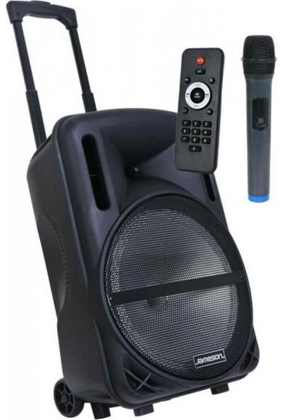 Jameson TR-125BT 2500W 12'' Kolay Taşınabilir Hoparlör Ses Sistemi