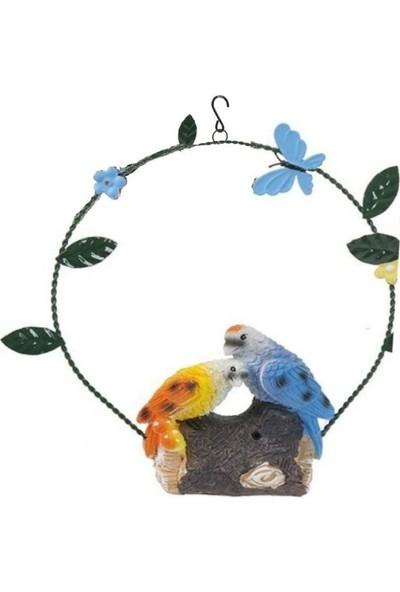 Bosphorus Müzikli Kuş Sesi Çıkartma Özellikli Asılabilir Balkon ve Bahçe Süsü