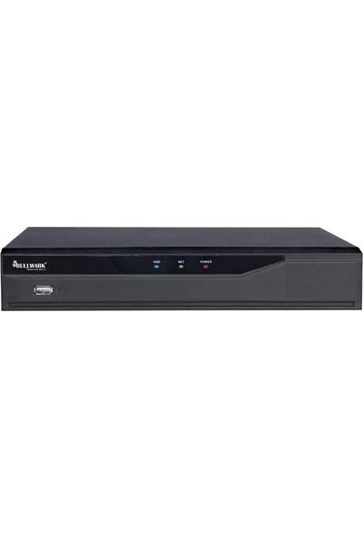Bullwark Blw N4008P8 D1 8 Kanal 8mp H.265 1 Disk 8 Kanal Poe Network Kayıt Cihazı