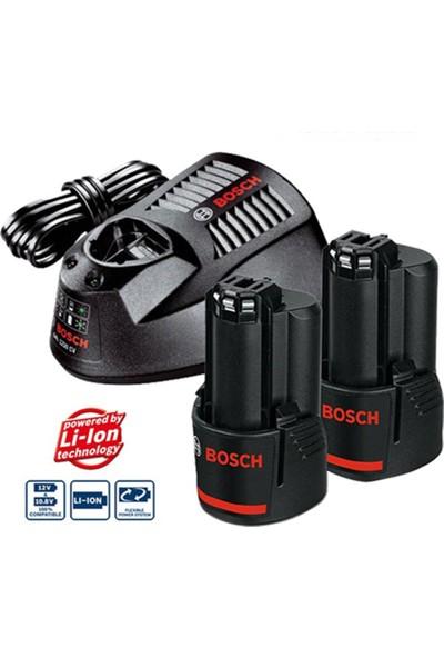 Bosch 12 V Başlangıç Seti Gal 1230 Cv + 2 x Gba 12V 2.0 Ah