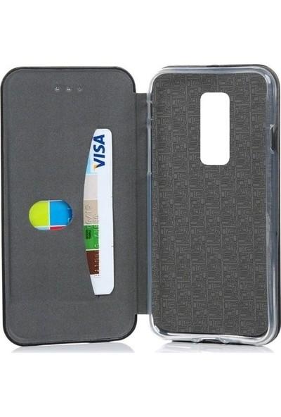 A Shopping Samsung Galaxy A50 Kılıf Kapaklı Cüzdan Flip Cover Wallet Kılıf - Rose Gold