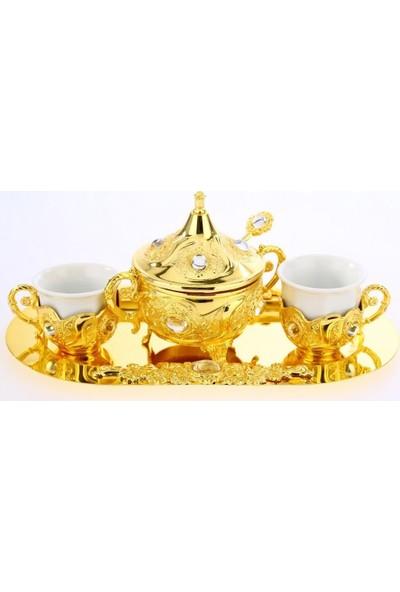 MCA Porselenli Kahve Seti 2'li
