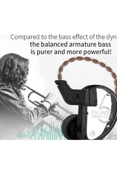 Kz AS06 3ba Driver Bass Kulak İçi Kulaklık