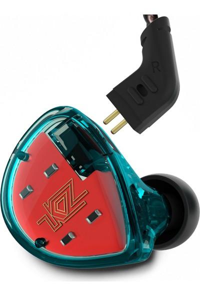Kz Es4 Ba + Dd Driver Kulak İçi Kulaklık - Mavi