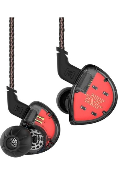Kz Es4 Ba + Dd Driver Kulak İçi Kulaklık - Siyah