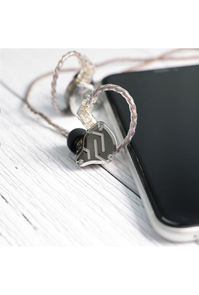Kz ZS10 Pro 4ba + 1dd Hibrit Kulaklık - Mor
