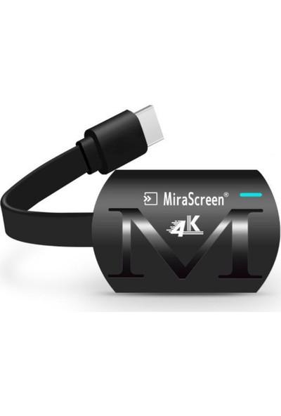 Microcase Mirascreen AL2404 G4 Plus 4K UHD Kablosuz HDMI Görüntü ve Ses Aktarıcı