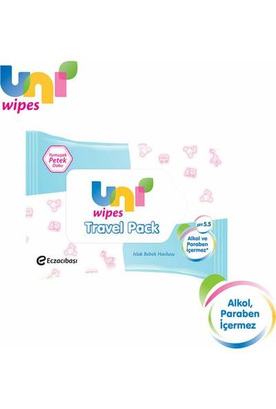 Uni Wipes Travel Pack Islak Havlu