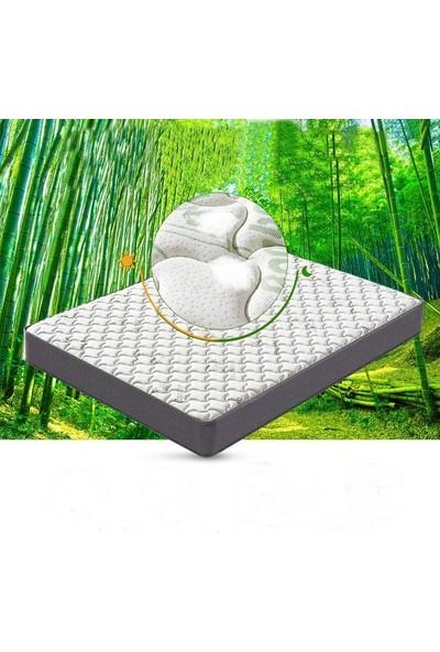 Heyner Hybird Bamboo Kumaş Yaylı Yatak Lüx Soft Yaylı Yatak 90X200 cm