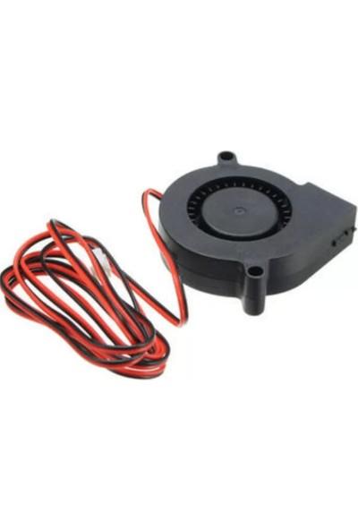 Salyangoz 3D Yazıcı Fan 12V 2 Kablo 50*50*15MM
