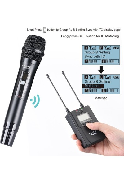 Comica CVM-WM200B Mikrofon