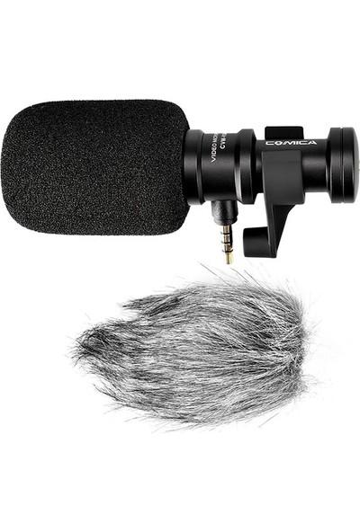 Comica CVM-VS08 Kablolu Shotgun Mikrofon