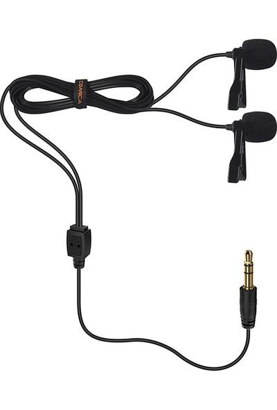 Comica CVM-D02 4.5 Metre Kabolu Yaka Mikrofonu
