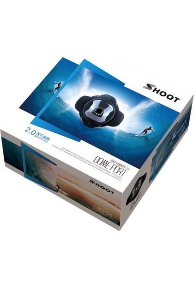Gopro Hero 3 3+ 4 Parasoleyli Su Altı Dome Port