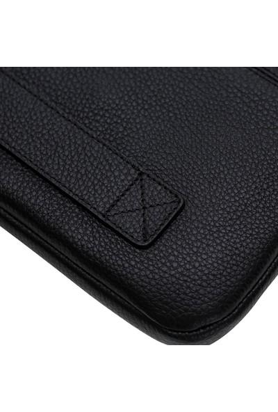 Bouletta Awe Deri Tablet Çantası 11'' - Siyah