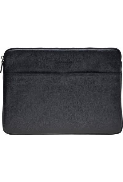 Bouletta Awe Deri Tablet Çantası 13'' - Siyah